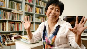 Dai Qing (Photo by Tamako Sado)                  Prominent writer, journalist and activist Dai Qing, 72, has spent many years covering environmental issues and China's democracy movement.