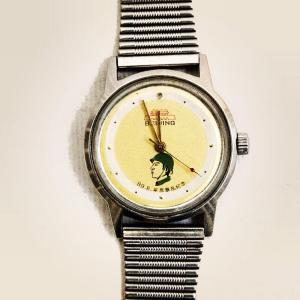A commemorative watch given to soldiers who participated in the 1989 Tiananmen Square crackdown.