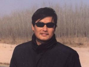 "Chen Guangcheng, frequently described as a ""barefoot lawyer""  who advocates for women's rights, land rights, and the welfare of the poor."