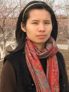 Zeng Jinyan, blogger and activist, and the wife of high-profile Chinese AIDS campaigner Hu Jia.
