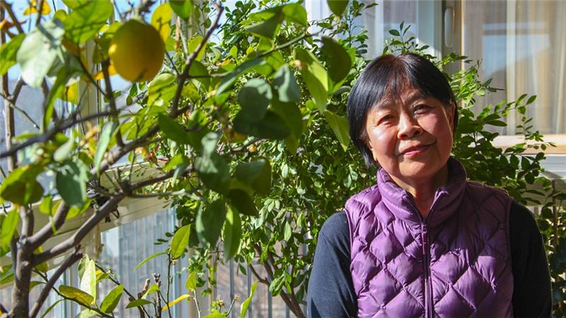 Dai Qing grew up as a 'red princess', raised by the Communist party's elite, but she fell out of favour as the Tiananmen Square protests came to a deadly conclusion [Allison Griner/Al Jazeera]