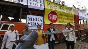 NGO mobilization in Thailand against the Don Sahong Dam.