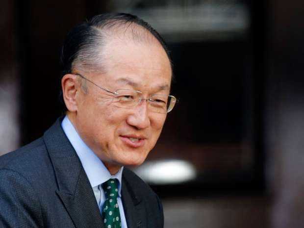 World Bank President Jim Yong Kim arrives for the Anti-Corruption Summit in London, Thursday, May 12, 2016.