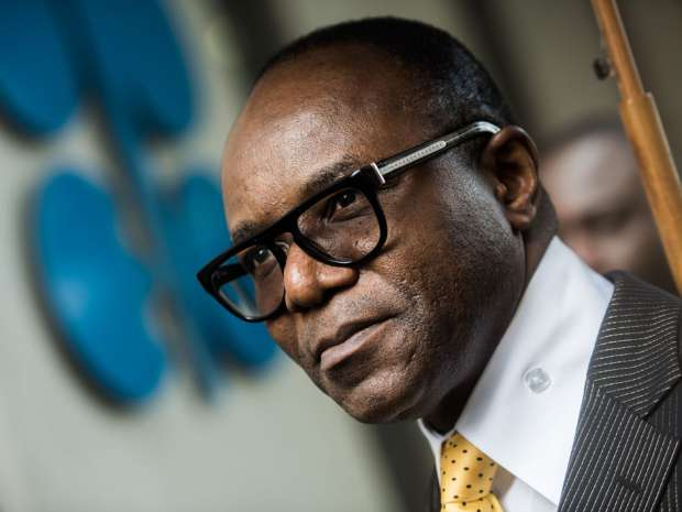 Emmanuel Ibe Kachikwu, Nigeria's petroleum and resources minister. The resource-rich former British colony — until recently Africa's largest oil exporter — is now racking up deficits, and negotiating multi-billion dollar bailouts through agencies such as the World Bank. Akos Stiller/Bloomberg.